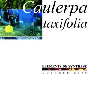Caulerpa taxifolia : éléments de synthèse