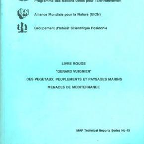 """Le """"Livre Rouge"""" des végétaux, peuplements et paysages menacés de Méditerranée: bibliographie de l'ensemble des articles"""