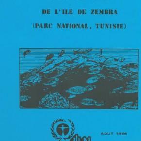 Le benthos marin de l'île de Zembra (Parc national, Tunisie)