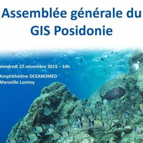 Assemblée générale du GIS Posidonie - 27 novembre 2015