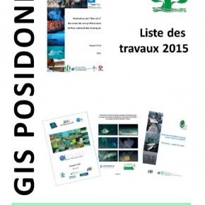 Liste des travaux du GIS Posidonie